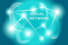 Social Network. Stock Image