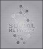 Social Network - abstract Royalty Free Stock Image