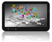 Social network apps Stock Images