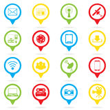 social network, communication in the global computer Royalty Free Stock Images