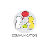 Social Network Communication People Chat Icon Royalty Free Stock Photo