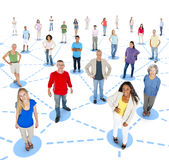 Social Network Community Communication Networking Concept Stock Photo