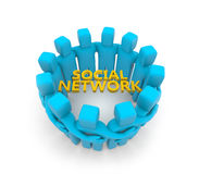Social network concept Royalty Free Stock Photo