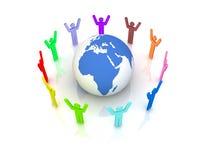 Social Network Concept Royalty Free Stock Photos