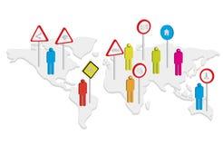 Social network concept Stock Photo