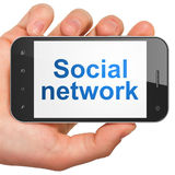 Social network concept: Social Network on Royalty Free Stock Image