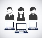 Social network design Stock Photography
