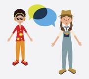 Social network design Royalty Free Stock Photos