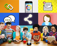 Social Network Global Communications Connection Concept Stock Photography