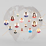 A social network Stock Image