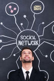 Social network. Royalty Free Stock Images