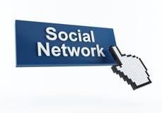 Social network icon Stock Photos