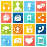 Social network icons Stock Photography