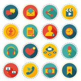 Social network icons Stock Image