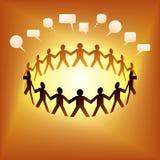 Social Network Idea Stock Image