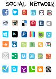 Social Network Royalty Free Stock Photography