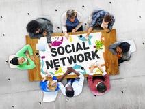 Social Network Internet Online Society Connecting Social Media C Royalty Free Stock Photos