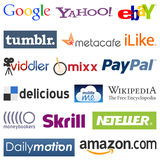 Social Network Logos [2] Royalty Free Stock Image