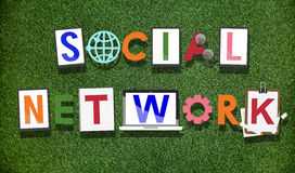 Social Network Media Technology Connected Concept Stock Photography