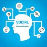 Social network Royalty Free Stock Photo