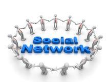 Social network. It reprecent social media networkking Stock Images