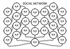 Social network service Stock Image