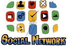 Social Network Social Media Internet Web Online Concept Stock Images