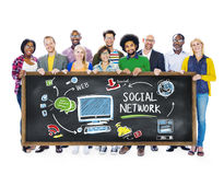 Social Network Social Media People Education Learning Concept Stock Images