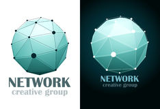 Social Network. Vector Royalty Free Stock Photos