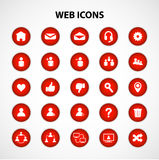 Social Network Web Icons Royalty Free Stock Image