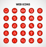 Social Network Web Icons Stock Photo