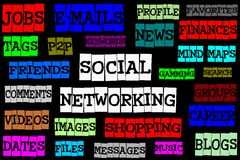 Social networking Royalty Free Stock Photos
