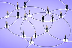 Social networking Stock Images