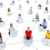 Social Networking Lizenzfreie Stockfotografie