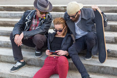 Social Networking Stockfotografie