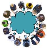 Social Networking Communication Technology Speech Bubble Concept Stock Photo