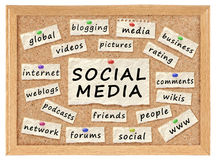 Social networking concept Royalty Free Stock Images