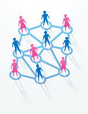 Social and networking concepts Stock Images