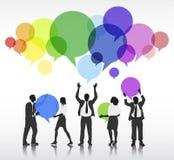 Social Networking-Leute-Vektor Lizenzfreie Stockbilder