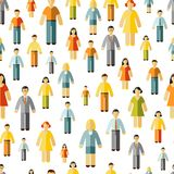 Social networking seamless pattern Stock Images