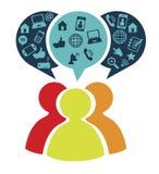 Social networking Stock Photos