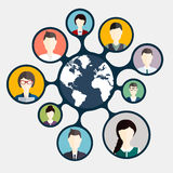 Social Networking and Social Media avatar Royalty Free Stock Image