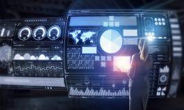 Social Networking-Technologien Gemischte Medien Stockfotos