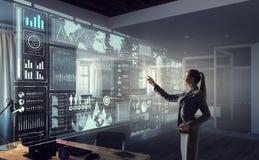Social Networking-Technologien Gemischte Medien Stockfoto