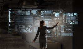 Social Networking-Technologien Gemischte Medien Lizenzfreie Stockfotografie