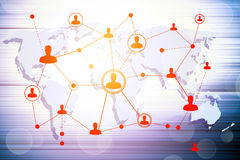 Social networking technologies Stock Photos