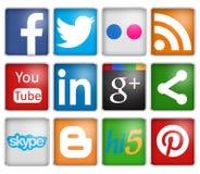 Social Networks Royalty Free Stock Photos