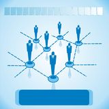Social networks for business Royalty Free Stock Photos