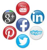 Social networks Stock Images