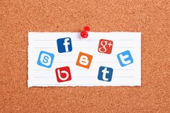 Social Networks Royalty Free Stock Photo